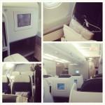 Air France 1st class cabins