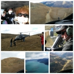 New Zealand Helicopter ride to the summit