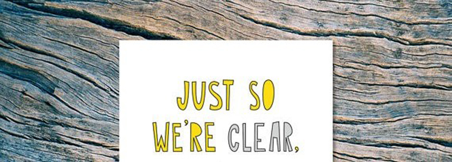 So that we'reclear…