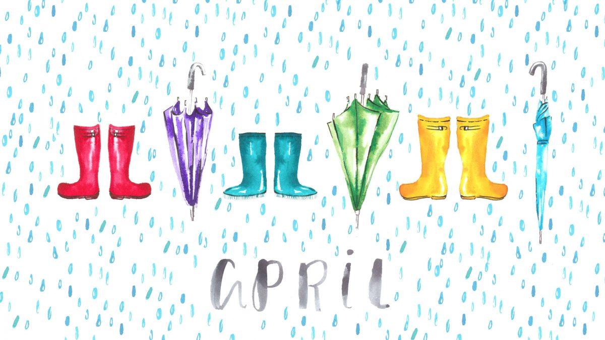 April Showers…
